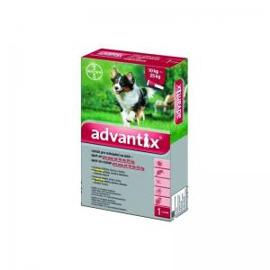 Advantix spot-on pre psy 10-25kg
